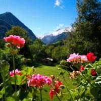 De berghut vakantie in de bergen