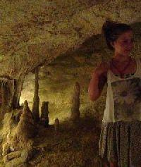 Grotten met stalagmieten op Ibiza