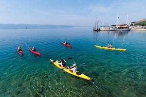 Zee kajakken in Omis - Luca Tambaca