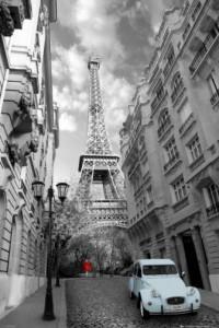 Parijs en auto