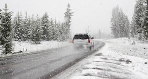 Winter en autorijden